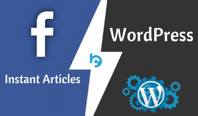 Как подключить моментальные статьи Facebook на WordPress